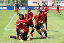 Cedric saca de un lío al Mallorca B con un hat-trick ante el Sant Andreu