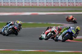 Valentino gana, Márquez cae y Lorenzo termina quinto en Argentina