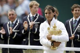 Rafa  Nadal, campeón de Wimbledon