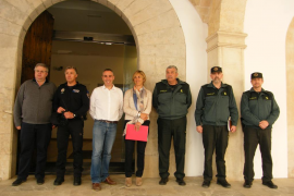 Reforzarán la presencia de Guardia Civil y Policía Local en Portocolom