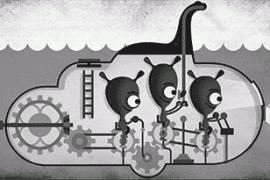 Google rinde homenaje al monstruo del Lago Ness