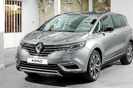 El nuevo Renault Espace llegará en mayo a España
