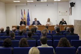 Carrau alaba el trabajo de la Policía Nacional de Balears contra la corrupción