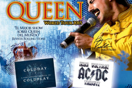 Homenajes a Queen, AC/DC y Coldplay en el Tributes Summer Fest