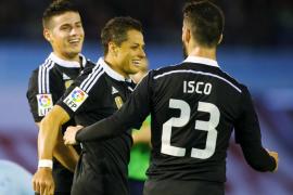 El Real Madrid no perdona en Vigo y sigue el ritmo del Barcelona