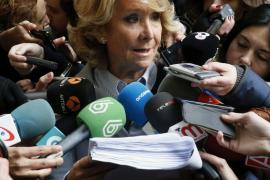 Admiten a trámite una querella de Podemos contra Aguirre por calumnias