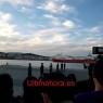 El buque con los ocupantes del ferry incendiado llega al puerto de Palma