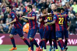 El Barça atropelló a un Getafe que naufragó en la primera parte