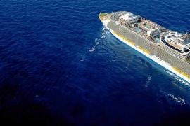 Palma recibirá en mayo los dos cruceros más grandes del mundo