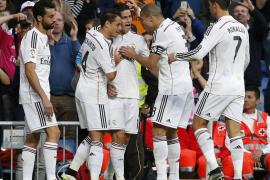 James Rodríguez ilumina al Real Madrid
