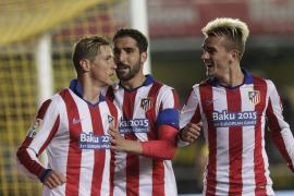 El Atlético más práctico doblega a un desafortunado Villarreal