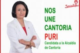 Puri, la candidata que sustituye a su marido sorprendido con cocaína