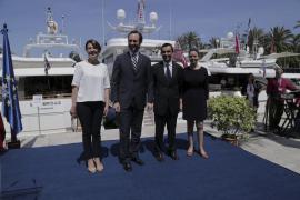 Bauzá asiste a la inauguración del XXXII Salón Náutico de Palma