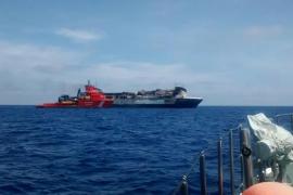 El Sorrento será remolcado el sábado y se descarta Mallorca como destino