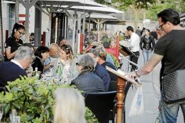 El gasto turístico en los restaurantes registra el mayor incremento desde 2009