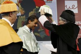 Nadal, investido Doctor Honoris Causa por la Universidad Europea de Madrid