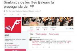 El STEI lamenta que la Orquestra Simfònica le haga «propaganda» al PP