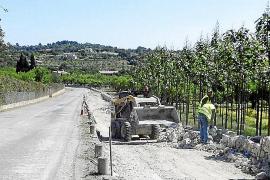 Aparece cerámica cartaginesa en la reforma de la carretera Selva-Moscari