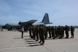 Parten a la República Centroafricana 19 militares de Baleares en misión de la UE