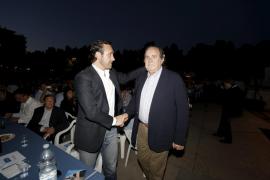 Rodríguez se reúne con el PP de Palma y le comunica su intención de continuar