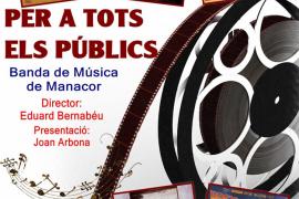 Concierto de cine de la Banda de Música de Manacor