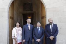 Isabel Borrego, José Ramón Bauzá, Taleb Rifai, Jaime Martínez