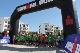Más de 600 niños participan en el Ironkids celebrado en Alcúdia