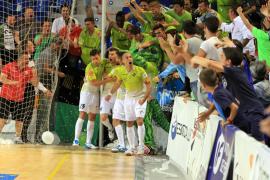 Lección de casta del Palma Futsal, a un paso de semis