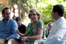 Aguirre, en Palma, dice que Podemos «llega con ideologías viejas y caducas»