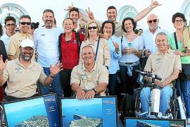 Entrega de los trofeos Gaastra Palma Vela