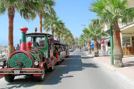 El Ajuntament ingresará 20.100 euros al año por el minitrén turístico de Can Picafort