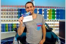 El mallorquín Jaume Rigo gana un coche en 'La ruleta de la fortuna'