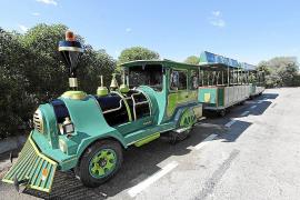 Tren turístico en Can Picafort