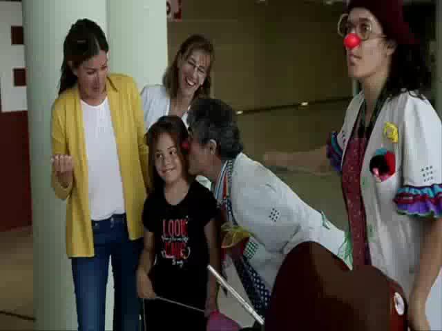 Lanzamiento masivo de besos para que el 13M sea el Día del Niño Hospitalizado
