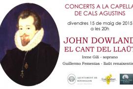 Irene Gili y Guillermo Femenías en 'John Dowland, el cant del llaüt'