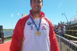 Benavides logra el oro en la Copa del Mundo de piragüismo