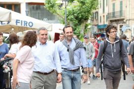 Bauzá promete un convenio para que los tickets del túnel de Sóller se puedan cobrar en el Ayuntamiento