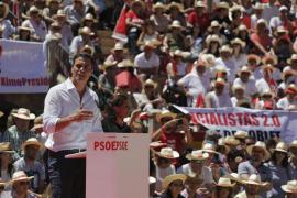 Sánchez pide a los indecisos apoyar al PSOE ante un PP «agotado y asediado»