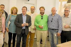 Inauguración del holding de empresas Armalutx, Sastre y Nahe
