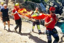 Nuevo accidente de un excursionista en el Camí dels Pintors, en Deià