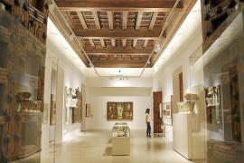 El Museu de Mallorca muestra piezas nunca vistas en un 'tast' previo a su reinauguración