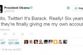 «Hola Twitter. Soy Barack ¡En serio!»