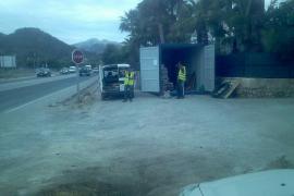El Consell inicia las obras para construir una rotonda en la intersección de sa Rieral en Andratx