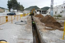 Tras años de espera, el agua potable empieza su camino hasta Portocolom