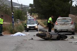 Accidente mortal en Santa Eulària.