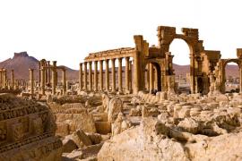 Los yihadistas se adentran en las ruinas de la histórica ciudad de Palmira