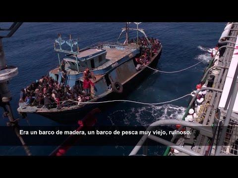 Médicos Sin Fronteras rescató a 1.226 personas en dos días en el Mediterráneo