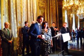 Nadal, condecorado en París con la medalla «Grand Vermeil»