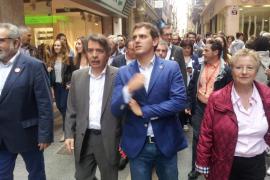 Rivera en Palma: Hay que expulsar la corrupción de las instituciones de Baleares