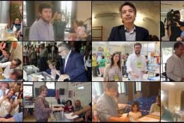 Votan los candidatos de Balears